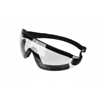 Bobster Wrap Around Airsoft Safety Goggles - CLEAR
